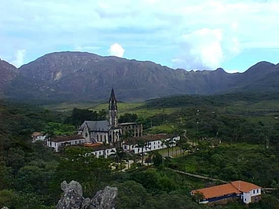 Vista do Santuário de Caraça