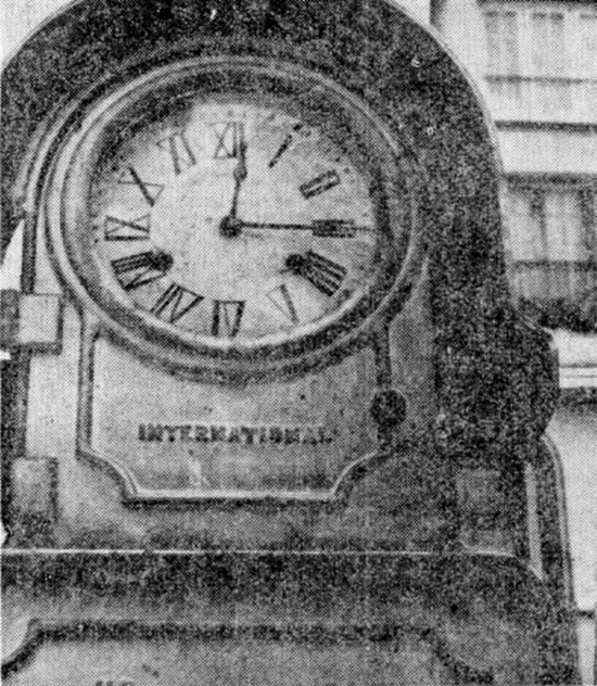 24bbbc818dc Novo Milênio  Histórias e Lendas de Santos  Famosos relógios ...
