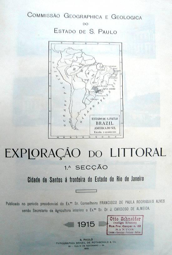 mapa103a - Série Avenida Paulista: a mansão dos Rothschild onde hoje é a Estação do Metro Consolação.