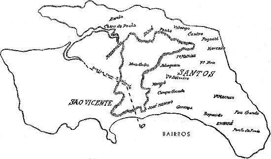 Novo Mil Nio Mapas De Santos Um Caderno Corogr Fico Na